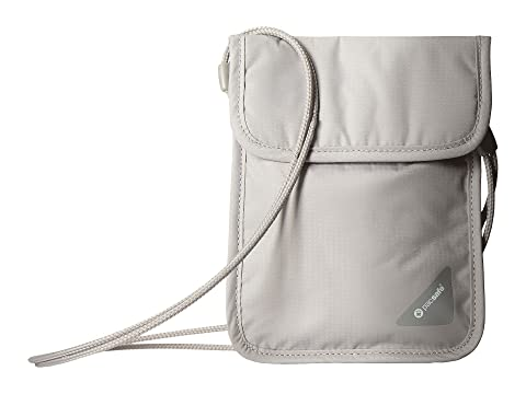 gris X75 cuello Coversafe el Pacsafe bolsa para RFID 0ROTq0BwH