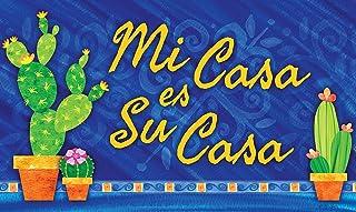 "Toland Home Garden 800448 Spanish House Doormat, 18"" x 30"", Multicolor"