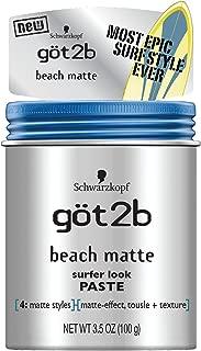 Got2b Beach Matte Surfer Look Paste, 3.5 Ounce (Pack of 6)