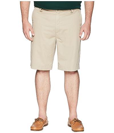 Polo Ralph Lauren Big & Tall Big Tall Stretch Flat Shorts (Khaki Tan) Men