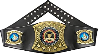 Express Medals Custom Bass Fishing Trophy Personalized Champion Belt MY421