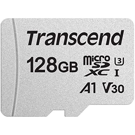 Transcend microSDカード 128GB UHS-I U3 V30 A1 Class10 Nintendo Switch 動作確認済 5年保証 TS128GUSD300S-AE【Amazon.co.jp限定】