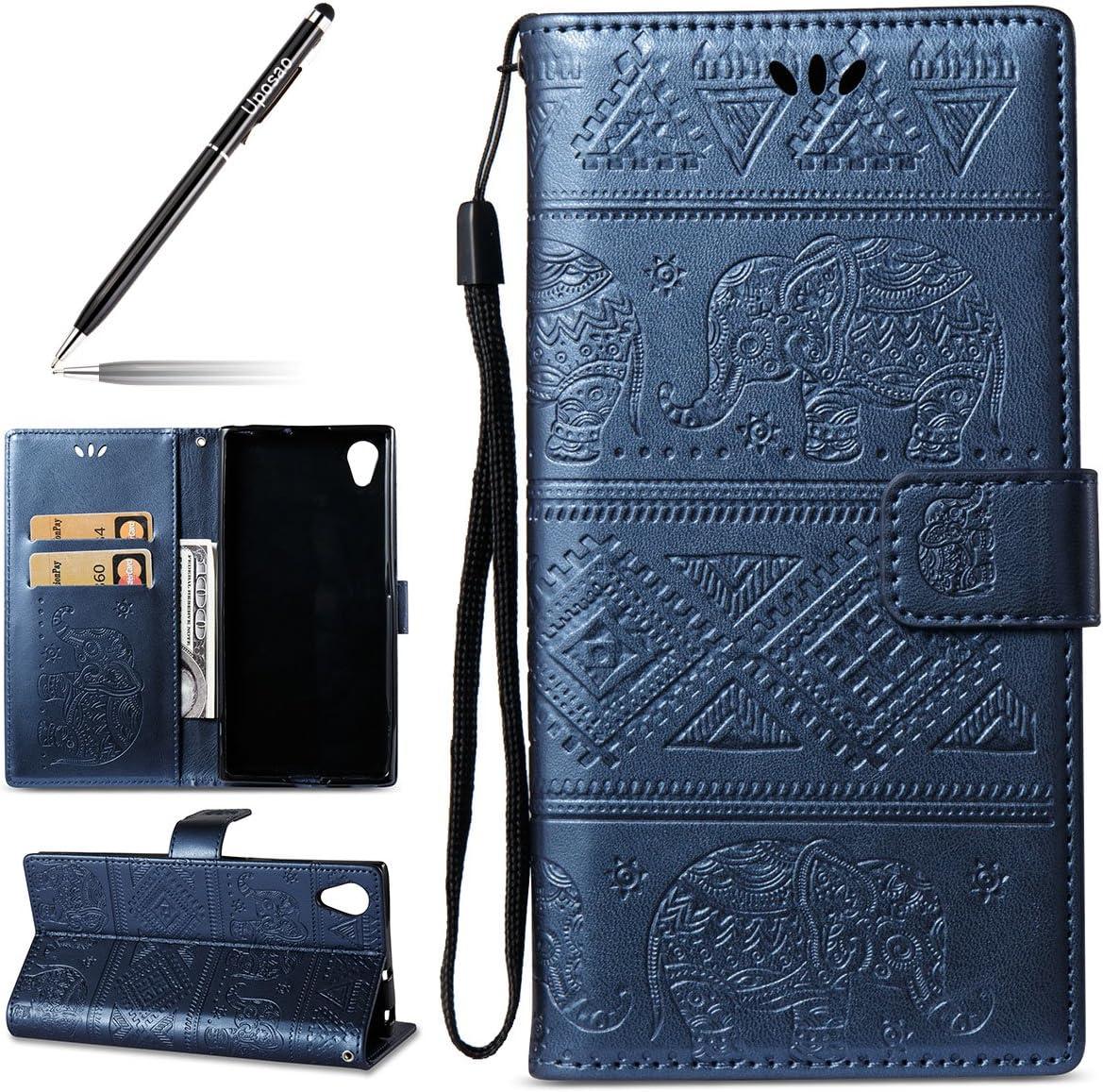 Handyhülle Für Sony Xperia Xa1 Plus Niedlich Elefant Muster Druck Handy Schutzhülle Brieftasche Handytasche Lederhülle Für Sony Xperia Xa1 Plus Hülle Ledertasche Mit Standfunktion Karteneinschub Bum Musikinstrumente