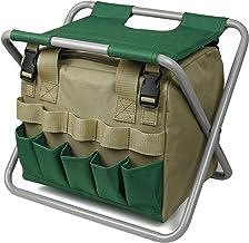 Assento, banquinho de jardinagem Banco de jardim dobrável para organizador com bolsa de ferramentas removível Conjunto de ...