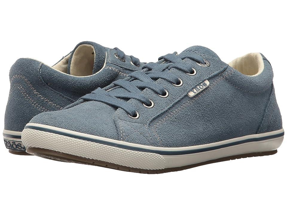 Taos Footwear Retro Star (Blue Suede) Women