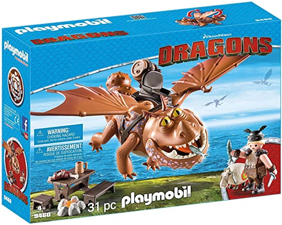 middle ages-purple set for the yellow dragon horse l5116 Playmobil