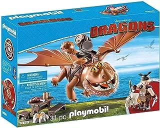 PLAYMOBIL How to Train Your Dragon Fishlegs & Meatlug