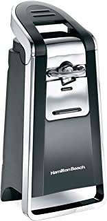 Hamilton Beach (76606ZA) Smooth Touch Electric Automatic Can Opener with Easy Push Down..