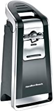 Hamilton Beach (76606ZA) Smooth Touch Electric Automatic Can Opener with Easy Push Down Lever, Opens All Standard-Size and...