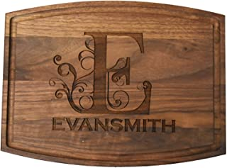 Brew City Engraving - Custom Personalized Engraved Bamboo Cutting Board - Wedding, Anniversary, Graduation, Housewarming, Closing, Realtor Mother's Day, Fathers Day Gift/Present for Cooks & Chefs 21