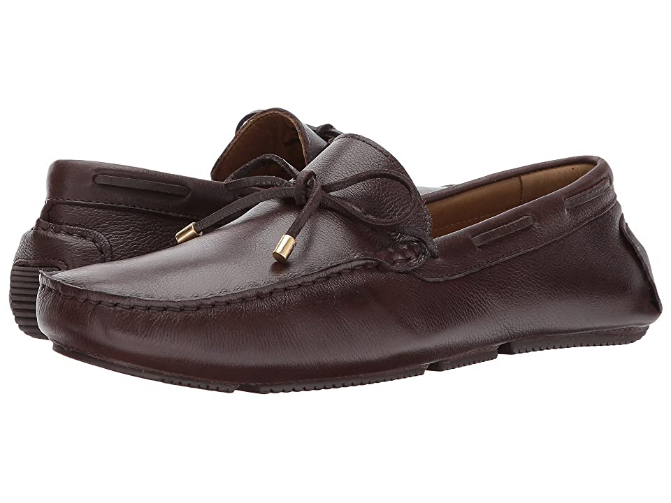 Massimo Matteo Lace Driver 17 (Cafe) Men