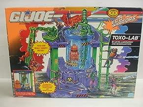 G.I.JOE 1992 Eco Warriors TOXO LAB - Bi Level Laboratory and Headquarters Play Set