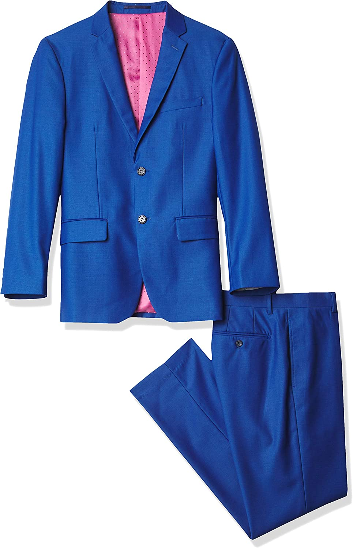 Kitonet mens Solid 2-piece Slim Fit Suit