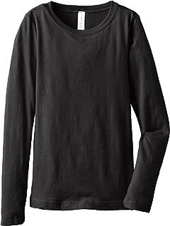 Big Girls Tween Youth Long Sleeve T Shirt Undershirt Sweatshirt Tees