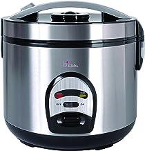 BKITCHEN Cook 200 RVS rijstkoker met warmhoudfunctie, rijst, vlees, vis en aardappelen