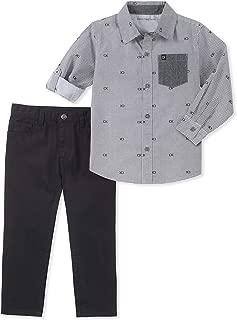 Calvin Klein Baby Boys' 2 Pieces Shirt Set Pants