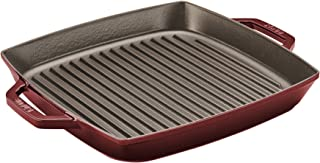 Best staub cast iron 13 square double handle grill pan Reviews