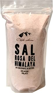 Sal Rosa Himalaya Mineral - 6 Paquetes x 1000 gr - Total: 6000 gr