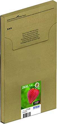 EPSON 29 Claria 家用草莓墨盒 - 黑色/青色/洋红色/黄色(多件装) XL- High Capacity 黑色/黄色/洋红色/黄色