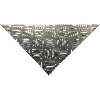 Alu Riffelblech 5/6,5mm Aluminium Blech Quintett
