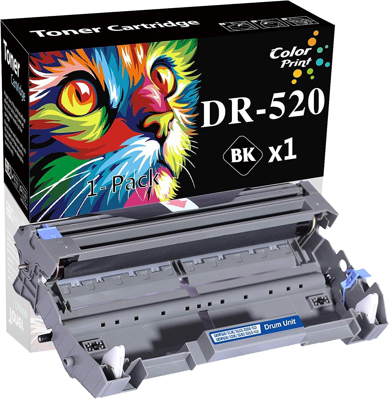 (1 Drum) Compatible DR-520 Drum Unit DR520 Imaging Drum Used for HL-5250DN HL-5340D MFC-8890DW MFC-8860DN MFC-8480DN HL-5370DW MFC-8680DN Printer, by ColorPrint