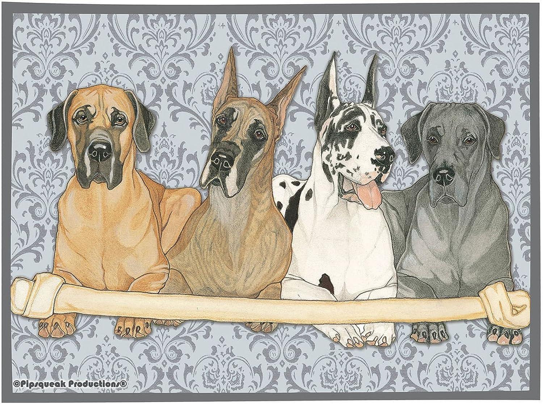 Best of Breed Great Dane Dog Breed Fleece Blanket