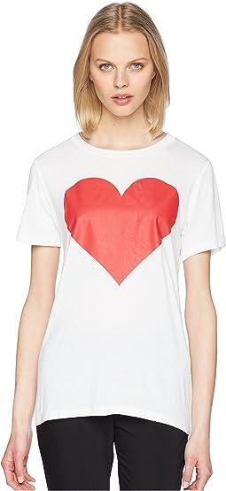 Printed Heart Tee