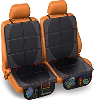 Car Seat Protector for Baby & Toddler by FORTEM   100% Waterproof Very Thick & Durable Quality Backseat Cover   Protection...