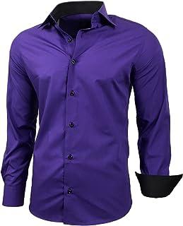 apparence élégante de style élégant boutique de sortie Amazon.fr : Violet - Chemises / T-shirts, polos et chemises ...