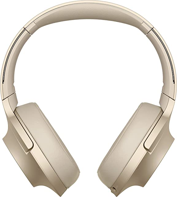 Sony WHH900N - Auriculares de Diadema Inalámbricos con Alexa integrada (H.Ear Hi-Res Audio Cancelación de Ruido Sense Engine Bluetooth Compatible con Aplicación Headphones connect) Beige U