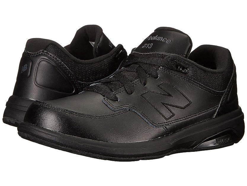 雄弁なイヤホン借りている[ニューバランス] メンズウォーキングシューズ?靴 MW813 Black/Black 12 (30cm) 4E - Extra Wide [並行輸入品]