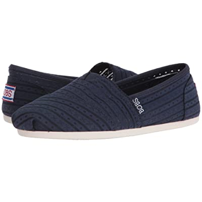BOBS from SKECHERS Bobs Plush Urban Rose (Navy) Women