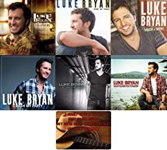 Luke Bryan: Complete Studio Album Discography 6 CD Collection with Bonus Art Card (Crash My Party / Tailgates & Tanlines / Kill the Lights and More)