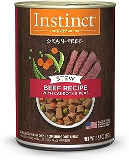 Instinct Grain Free Stews Recipe Natural Wet Canned Dog Food