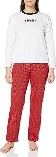 Set LS Jersey Holiday Juego de Pijama para Mujer