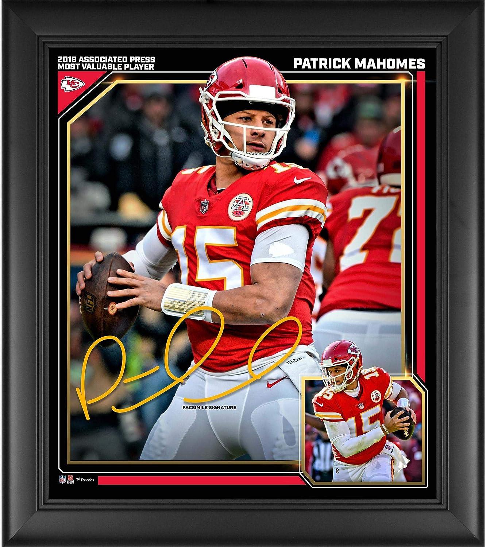 Patrick Mahomes Kansas City Chiefs 2018 NFL MVP Framed 15