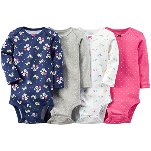 Carters Unisex Kids Multi-Pk Bodysuits 126g458