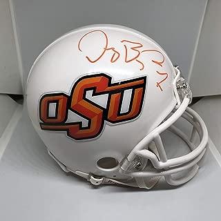Dez Bryant Signed OSU Cowboys Mini-Helmet (JSA COA) JSA Witnessed