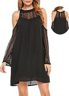 Best one-shoulder guipure-lace mini dress Reviews