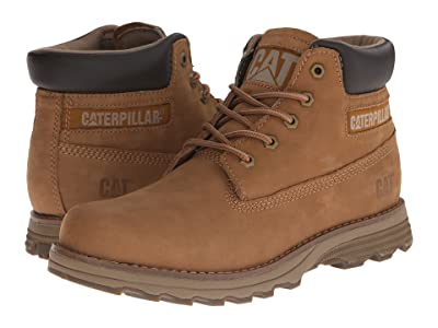 Caterpillar Casual Founder (Bronze Brown Nubuck) Men