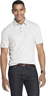 Van Heusen Men's Short Sleeve Air Performance Space Dye Polo Shirt