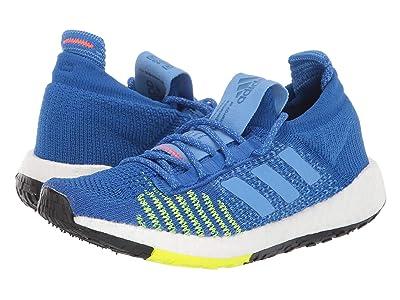 adidas Kids PulseBoost HD (Big Kid) (Blue/Solar Yellow) Boys Shoes