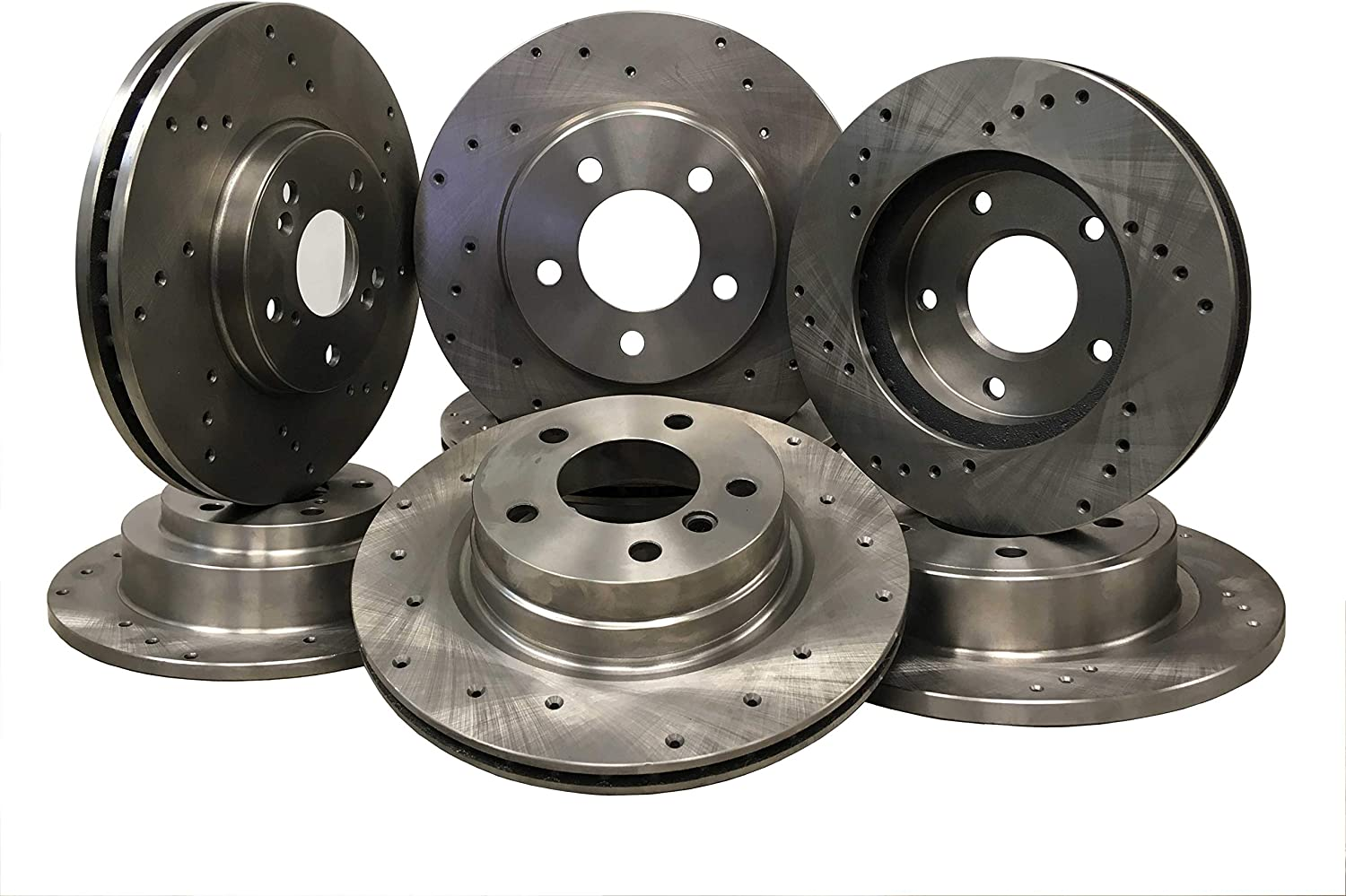 5447D Front Drilled Brake pair Rotor 超激安 of 2 爆買い送料無料