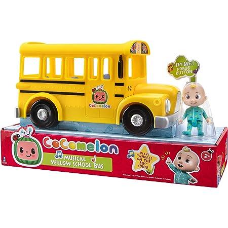 CoComelon CMW0015 Mitsing-bus con suono e JJ Personaggio giocattolo per bambini dai 2 anni in su