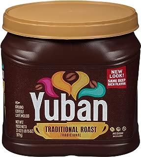 Yuban Traditional Medium Roast Ground Coffee (31 oz Canister)
