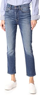 7 For All Mankind Women's Edie High Waist Jeans