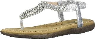 Volatile Women's Safiya Sandal, Silver, 6 M US