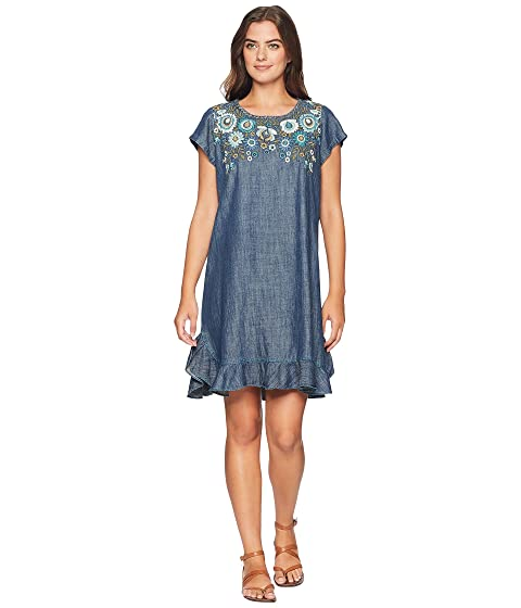 Ranchwear D D Kudzoo Dark Denim Vestido Doble xwIOSB6