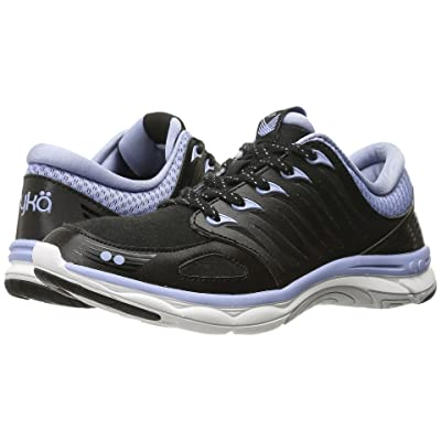Ryka Flora (Black/Brunnera Blue/Vapor Grey) Women