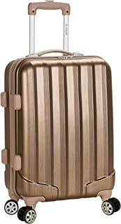 (Bronze) - Rockland Luggage Melbourne Expandable ABS Carry On - Bronze